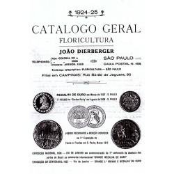 Catálogo de 1924 e 1925
