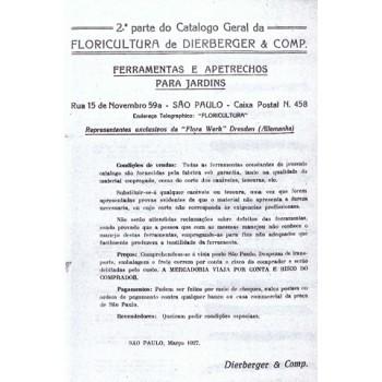 Catálogo de 1927