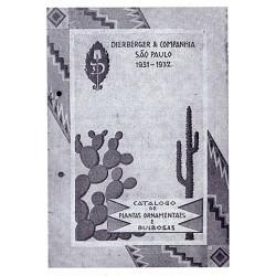 Catálogo de 1931 e 1932