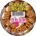 SOAP MACADÂMIA  - COM ÓLEO NATURAL - CAIXA COM 18 PEÇAS DE 500 GRAMAS.